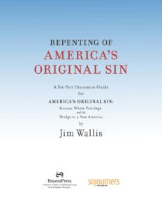 Cover Repenting of America's Original Sin